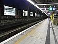 HK Shek Mun MTR Station evening platform Sept-2012.JPG