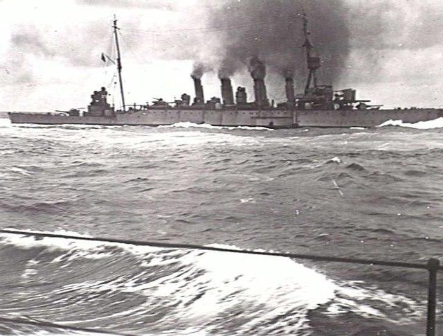 HMAS Melbourne 1918