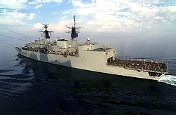 HMS Coventry was one of two frigates sold to Romania. The terms of the sale have been controversial.