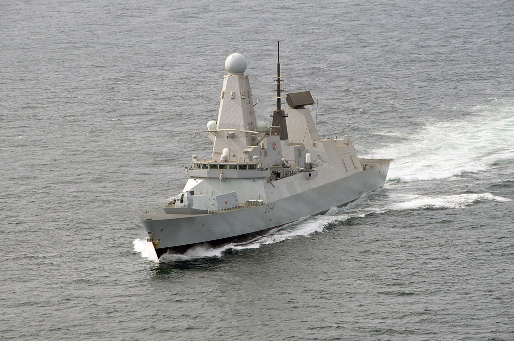 defense updates type 45 destroyer may incorporate