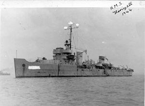 HMS Florizel in 1944