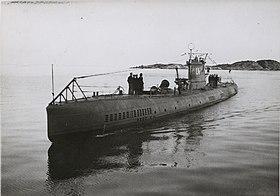 Ubåten Ulven användes över 10 år