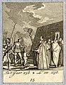 HUA-32303-Afbeelding van de bisschop van Utrecht die aan het hoofd van een processie bij de legertent van graaf Dirk IV van Holland buiten Utrecht dreigt de bel.jpg