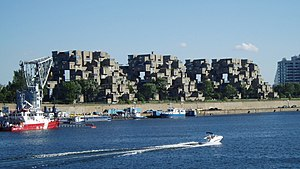 Expo 67 - Habitat 67, a housing complex built for Expo 67