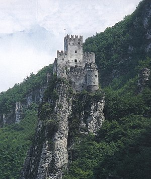 Salorno - Haderburg Castle