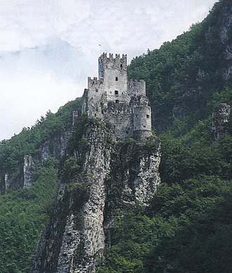 Salorno - Haderburg Castle.