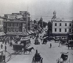 Hagerstown Public Square circa 1900