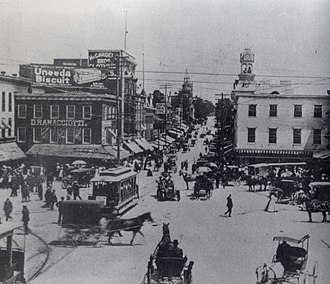 Hagerstown, Maryland - Hagerstown Public Square circa 1900.