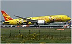 Hainan Airlines (Kung Fu Panda livery), Boeing 787-9, B-7302 (35853676402).jpg