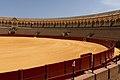 Half bullring real Maestranza Seville Andalusia Spain.jpg