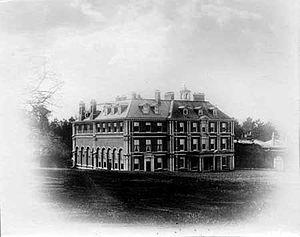 Edmund Waller - Hall Barn, built for Edmund Waller at Beaconsfield, Buckinghamshire.