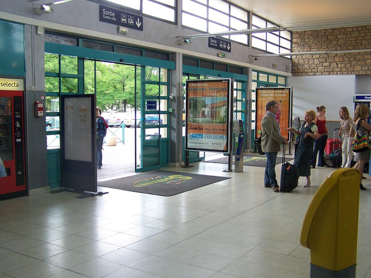 Gare Macon Centre Ville