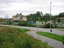 Jernbanestationen
