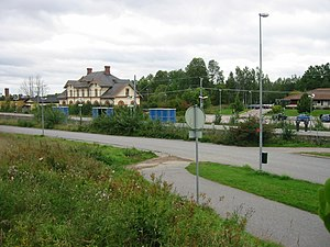 Hallstahammar - Hallstahammar Train Station