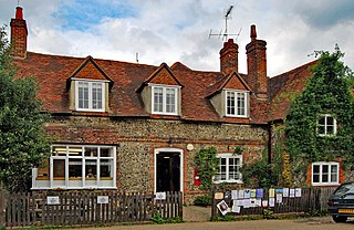 Hambleden farm village in the United Kingdom