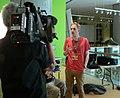 Hamburg, Museum für Kunst und Gewerbe Wiki Loves Music Gnom Interview 1.jpg