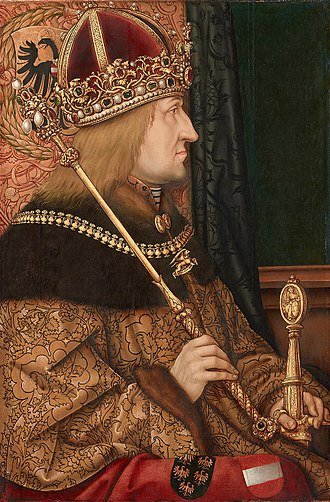 Frederick III, Holy Roman Emperor - Portrait by Hans Burgkmair, c. 1500
