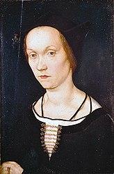 Hans Holbein the Elder: Portrait of a Woman