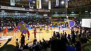 Hapoel Holon vs Maccabi RishonLezion in Winner League Playoff 2014 2015 old HaPachim Arena.jpg