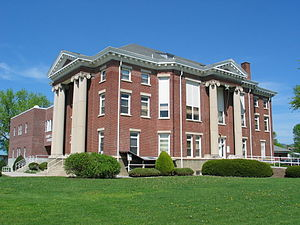 Hardy County, West Virginia - Image: Hardy County Courthouse Moorefield WV
