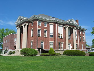 Moorefield, West Virginia - Hardy County Courthouse in Moorefield