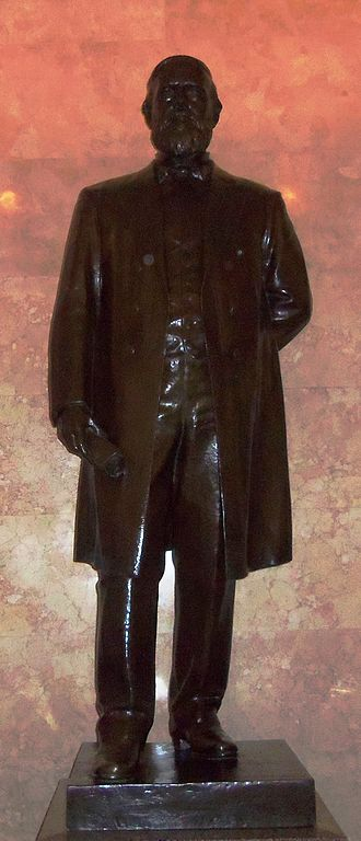 James Harlan (senator) - James Harlan's statue was one of two that represents the state of Iowa in the U.S. Capital until it was replaced