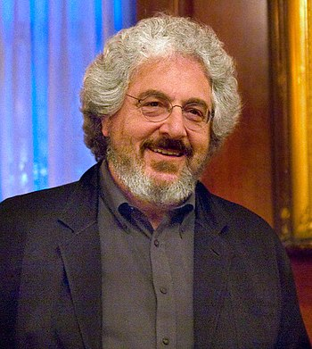 English: Harold Ramis at a Hudson Union Societ...
