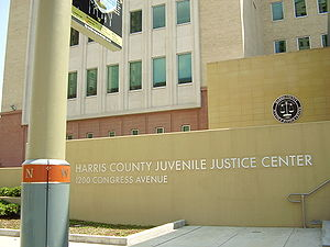 English: Harris County Juvenile Justice Center...