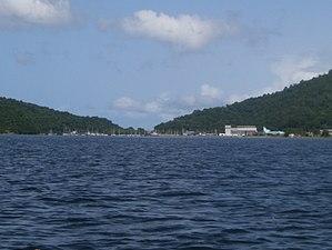 Chaguaramas, Trinidad - Hart's Cut Bay in Chaguaramas