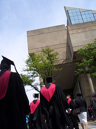 Harvard Graduate School of Design - GSD graduates during spring graduation