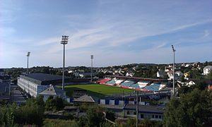 2014 Tippeligaen - Image: Haugesund Stadion