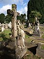 Headstones, Torquay Cemetery - geograph.org.uk - 1477658.jpg