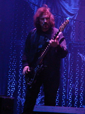 Geezer Butler playing live at Gods Of Metal 2009.