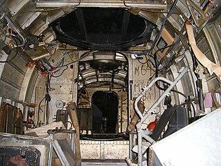 Interior del Heinkel 111