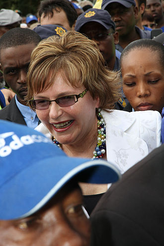 Helen Zille - Freedom Day Rally 2011 at Solomon Mahlangu Freedom Square in Mamelodi