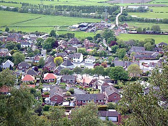 Helsby - Image: Helsby Village geograph.org.uk 11574