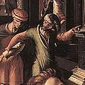 Hemessen, Jan van — Prodigal Son, detail man leading the prodigal son — 1512-1514.jpg
