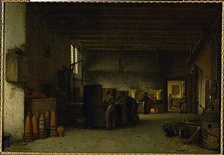 Interieur van de suikerfabriek \