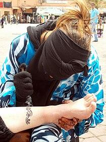 Tatouage Au Henne Wikilivres