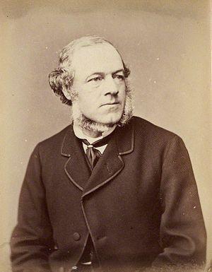 Henry Bruce, 1st Baron Aberdare - Image: Henry Bruce, 1st Baron Aberdare NPG