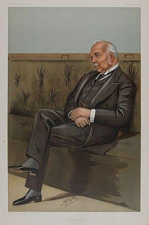 Henry Campbell-Bannerman - Campbell-Bannerman caricatured by Spy for Vanity Fair, 1899