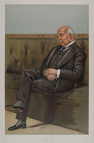 Henry Campbell-Bannerman - Campbell-Bannerman caricatured by Spy for Vanity Fair, 1899
