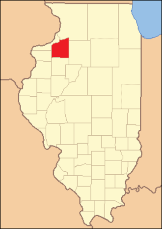 Henry County, Illinois - Image: Henry County Illinois 1831
