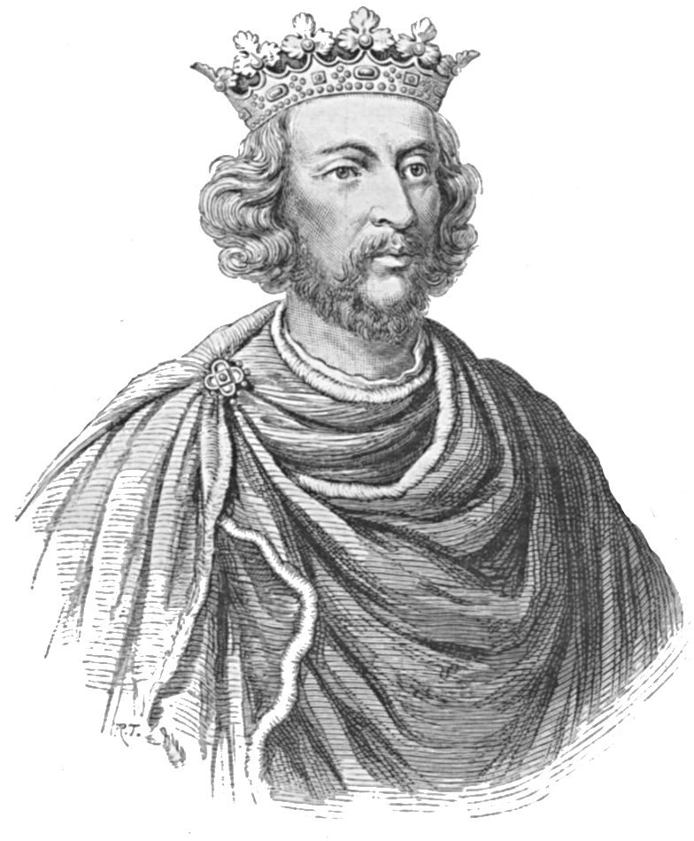 Henry III of England - Illustration from Cassell's History of England - Century Edition - published circa 1902
