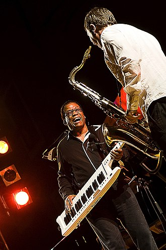 Herbie Hancock - Hancock live in concert