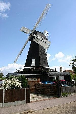 Herne, Kent - Image: Herne windmill