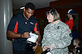 Herschel Walker at Camp Withycombe, 2012 006 (8454305753) (3).jpg