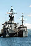 Hiei and Asagumo in Subic Bay, -1 Aug. 1988 a.jpg