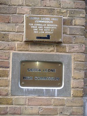 High Commission of Sierra Leone, London - Image: High Commission of Sierra Leone in London 2