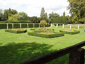 High Elms Country Park - Formal flower beds
